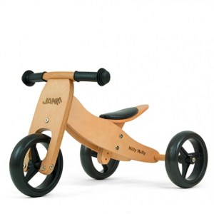 Milly Mally 2-in-1 loopfiets Jake naturel Junior Blank