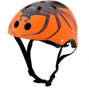 Mini Hornit Lids Fietshelm Chiller Spider oranje junior maat S