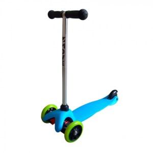 Move Mini Tri-Scooter Junior Voetrem Blauw