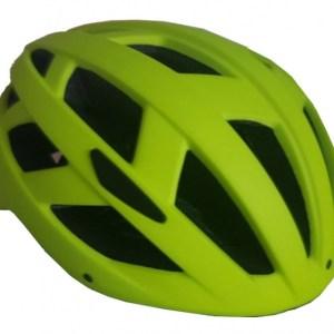 Pro Sport Lights fietshelm met verlichting unisex geel maat L