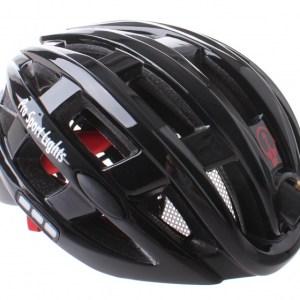 Pro Sport Lights fietshelm met verlichting unisex zwart mt 49-59