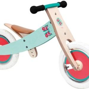 Scratch Balance Bike 12 Inch Meisjes Turquoise