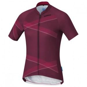 Shimano fietsshirt Team Performance dames bordeaux Maat L