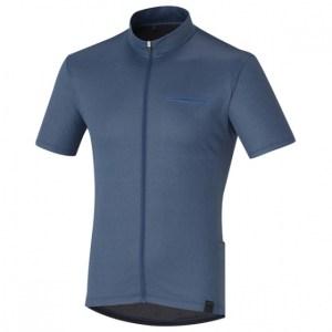 Shimano fietsshirt Transit Pavement heren donkerblauw maat L