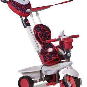 smarTrike Dream 4-in-1 Junior Rood
