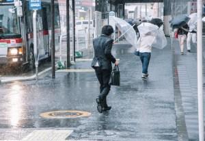 雨の中のリーマン