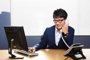 電話する営業