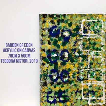 Tablou acrilic garden of eden