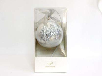 glob craciun argintiu