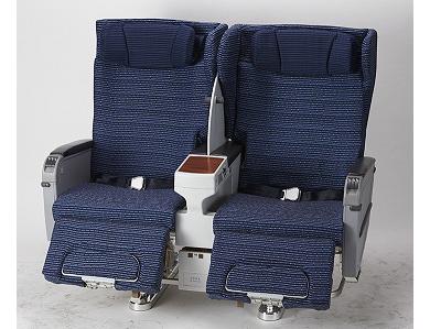 747-400 のイス