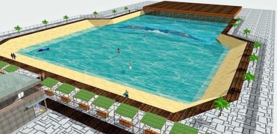 神戸に人工サーフィン施設が出来る