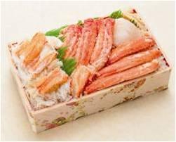 〈創作和食北海岸〉三大蟹弁当 3,564円 (各日30点限り)