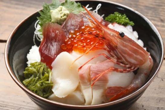 南房総の海鮮丼