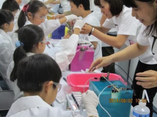 夏休み子ども化学実験ショー2015 - 科学技術館