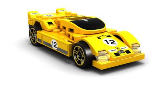 FERRARI 512 S - Shell V-Power LEGO®コレクション