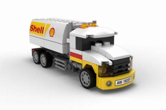 シェルローリー - Shell V-Power LEGO®コレクション