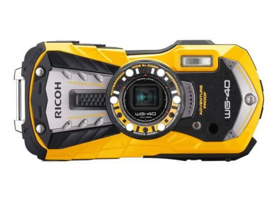 Wi-Fi なしモデル WG-40 (Yellow)