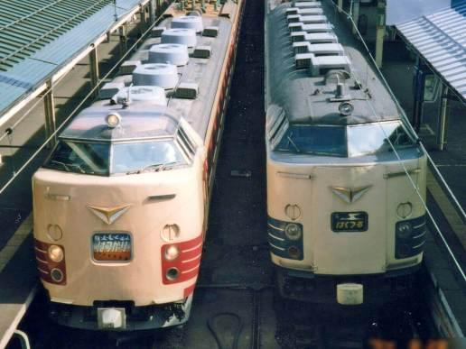 国鉄特急色の運行が今月末(10月30日)で定期運行を終了