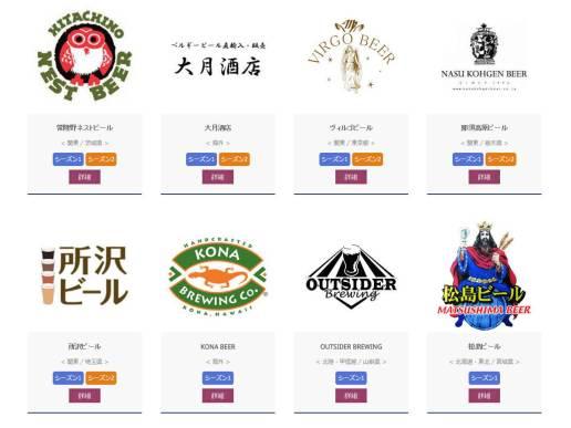 大江戸ビール祭り 2015 - ショップ情報(1)シーズン1
