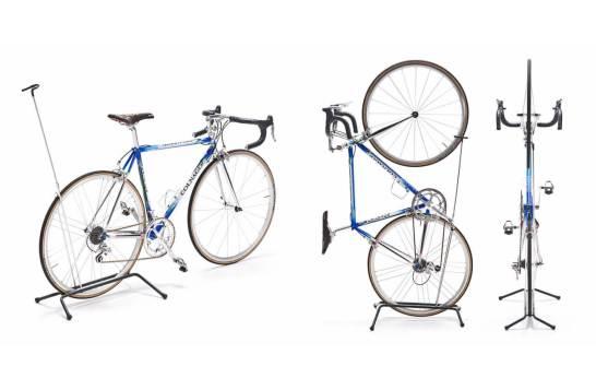 サンワダイレクト 自転車スタンド 縦置き&横置き対応 1台用 バイクスタンド 800-BYST4