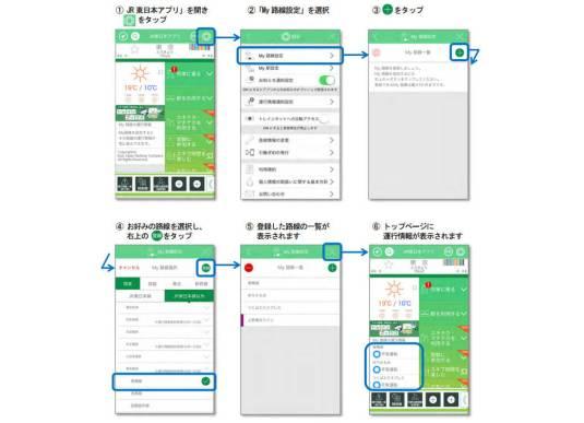 JR 東日本アプリがアップデート