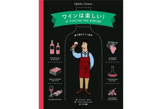 書籍『ワインは楽しい!』