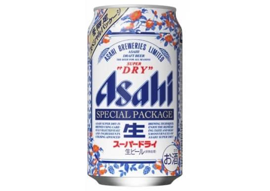 アサヒスーパードライの冬限定缶