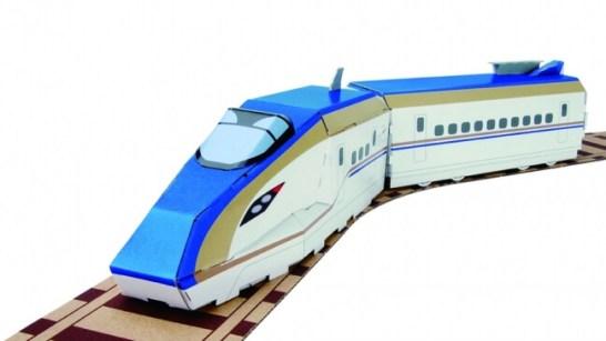 完成【E7系 北陸新幹線】かがやき