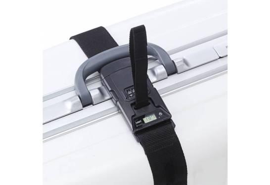 スーツケースベルト(ダイヤル錠ロック・ワンタッチ取付け・重量測定機能・デジタル表示)