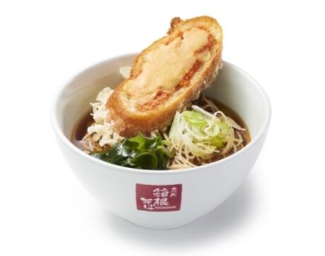 明太チーズフランス天そば(イメージ)