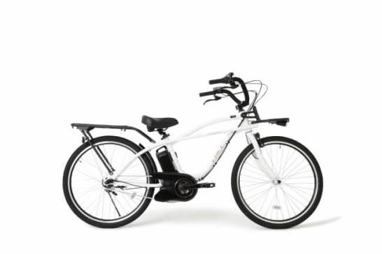 ビーチクルーザーをイメージした電動アシスト付自転車 BP02