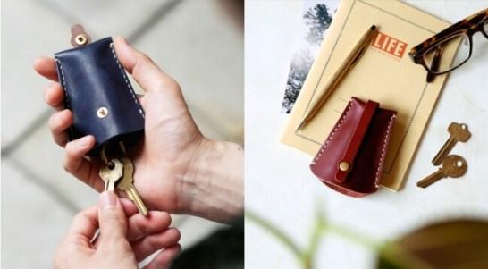 「ベル型キーケースづくり」 - 土屋鞄