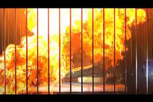 カセットコンロが爆発
