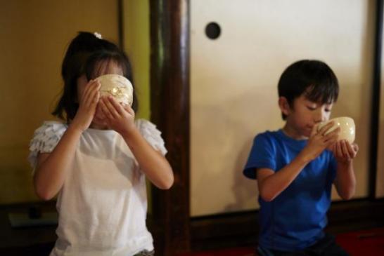 子供のための茶道教室