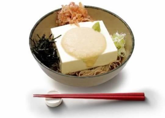 豆腐一丁そば 大和芋かけ(出汁入り) - 箱根そば