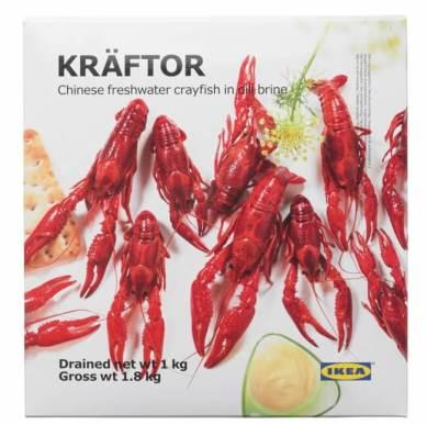 KRÄFTOR/クレフトル 冷凍ザリガニ(1,000g)