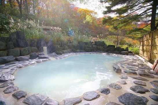 【2位:野地温泉ホテル】露天風呂