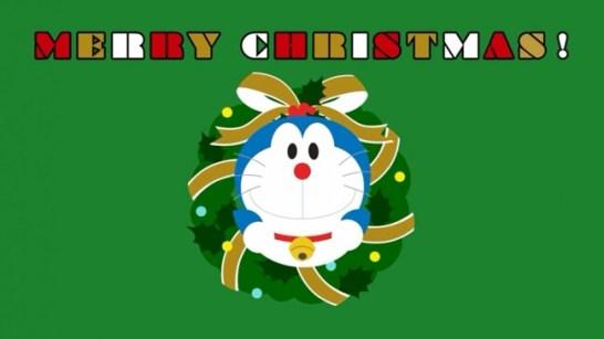 クリスマスをモチーフにしたドラえもん - ©藤子プロ・小学館・テレビ朝日・シンエイ・ADK