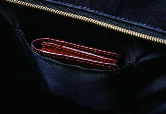 Harris Tweed 2WAY Backpack Book - 便利な内ポケット付き