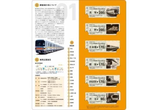 さよなら銀座線01系記念乗車券 - 東京地下鉄