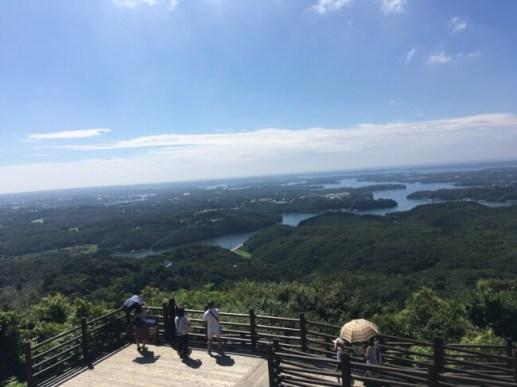 横山展望台 (三重県 志摩市)