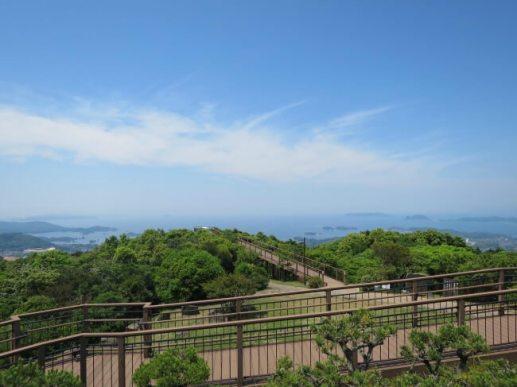 弓張岳展望台 (長崎県 佐世保市)