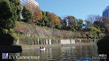 東京の運河を初運航するEV(電動)カヌーの紹介