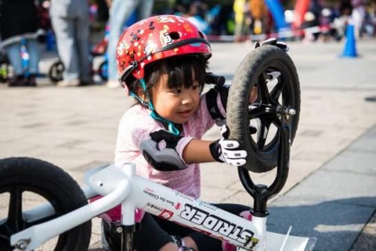 ランニングバイク大会『ARIAKE KIDS CUP』