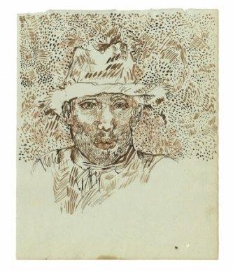 ▲『麦わら帽子の自画像』