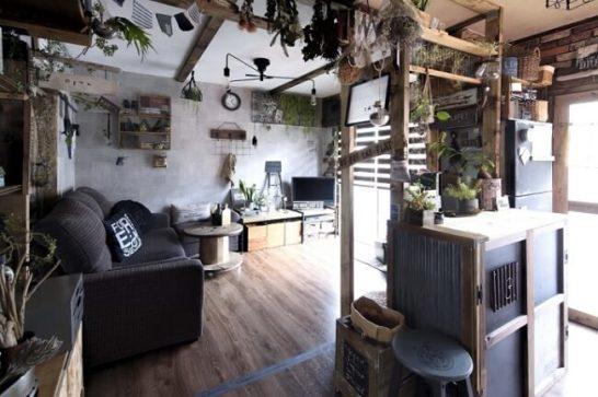 ▲古い団地の一室とは思えないほど素敵に模様替えされた、実例
