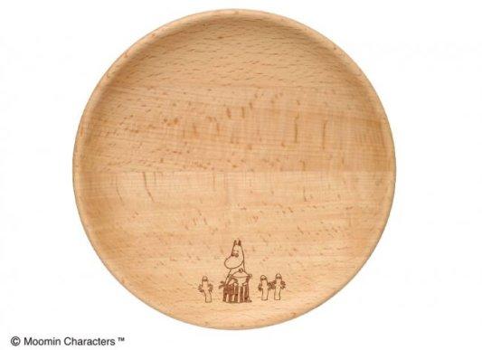 木製キッチンシリーズ ムーミンママ達のプレートディッシュ18