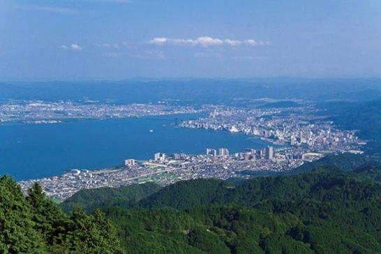 7位 比叡山(ひえいざん)<滋賀県、京都府>