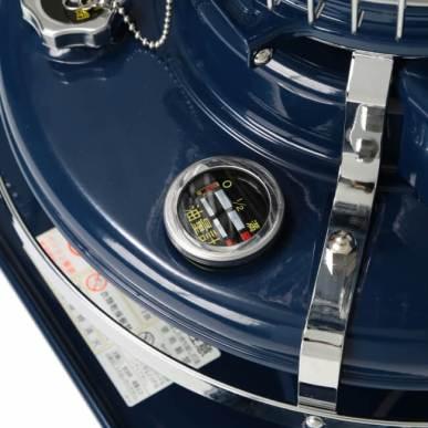 <油量計> タンク内の灯油量が一目でわかります。