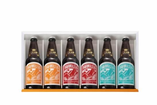 季節のビール含む箱根ビール6本セット(年4回お届け)+20周年記念グラス(初回お届け時のみ) 20名様